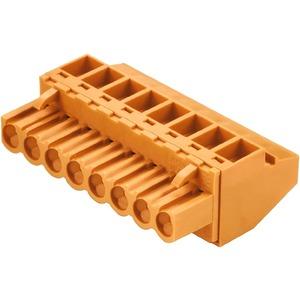 Leiterplattensteckverbinder Buchsenstecker 5.08 mm PolzahL  2 90°,