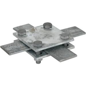 Kreuzstück St/tZn Fl./Fl. 30-40/30-40 mm