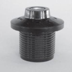 Electroplast Lampenfassung 2260 N-04 mit Schraubring 130-04 Kunstst. E27 schwarz