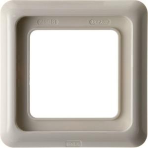 Abdeckrahmen 1-fach mit Dichtung wg Up IP44 - weiß/ glänzend