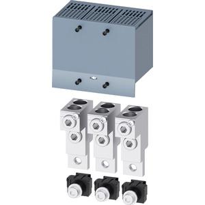 Rundleiter-Anschlussklemme 2 Kabel 3 Stück Zubehör für: 3VA1250